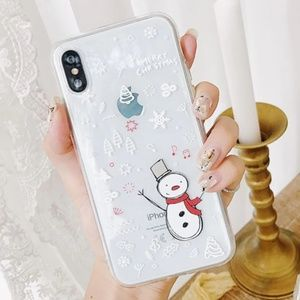 NEW iPhone 7/8 Snowman Case
